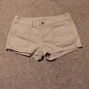 Khaki Arizona jean shorts size 7
